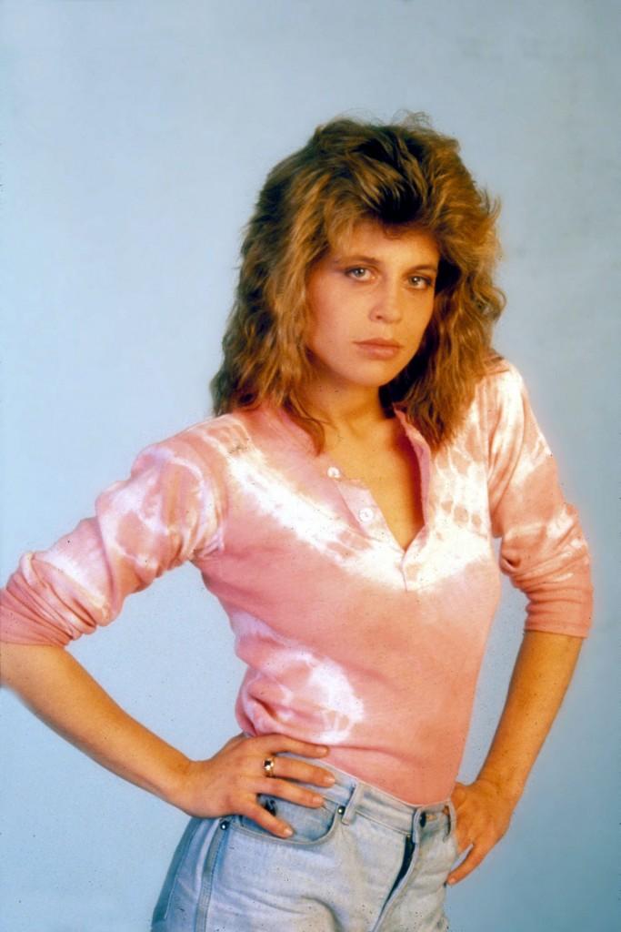 Linda Hamilton Mom Jeans