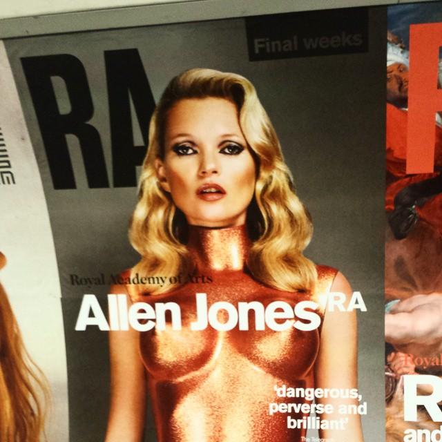 Plan for tonight #allenjones #raa #art #museum
