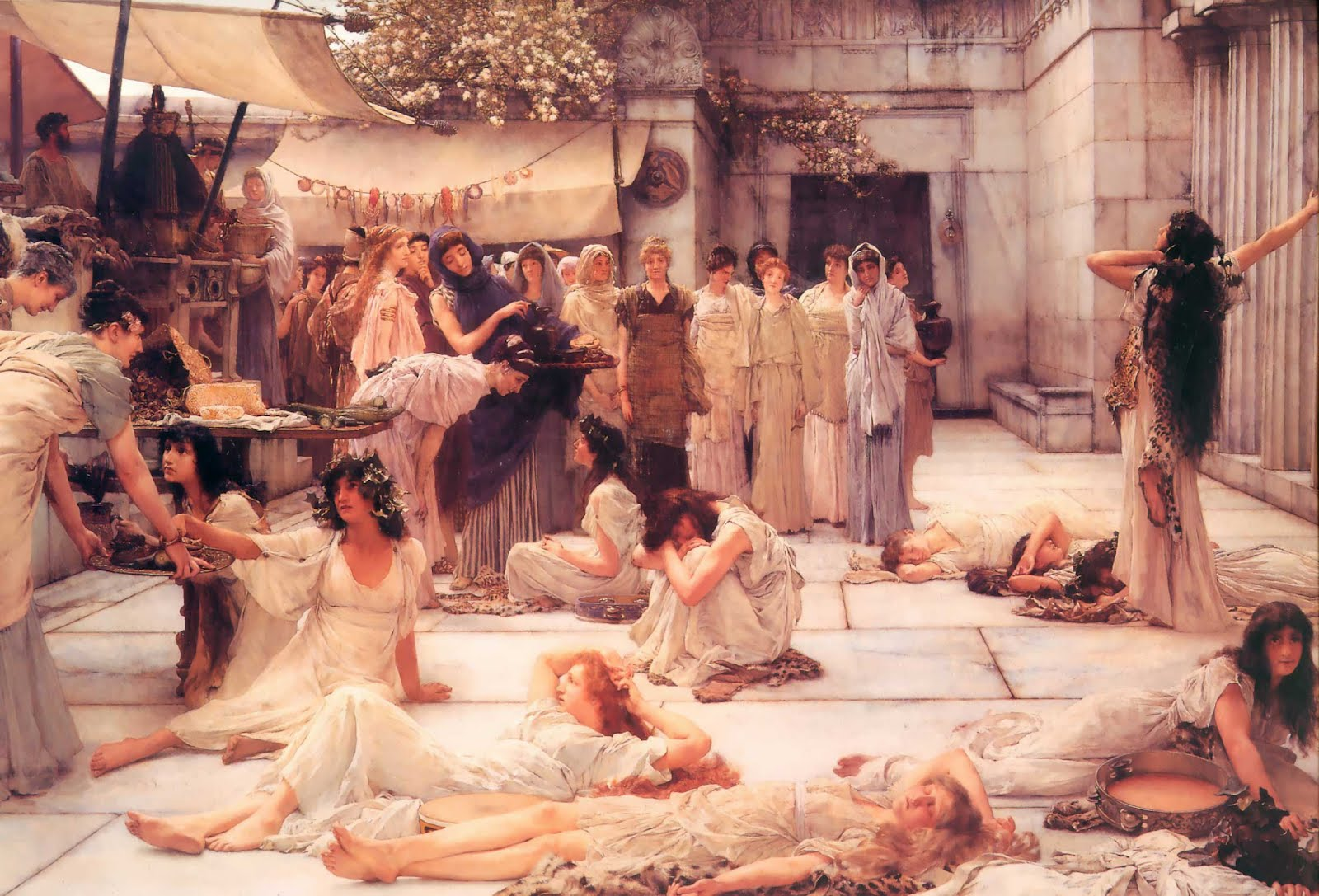 Alma-Tadema_The-Women-of-Amphissa_1887
