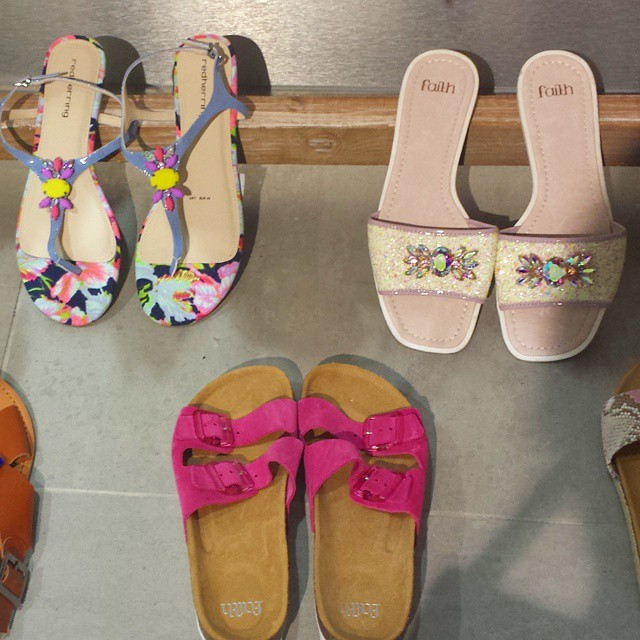 Bejewelled #sandals are all the rage for SS15 @debenhams