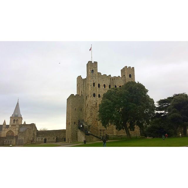#rochester castle.