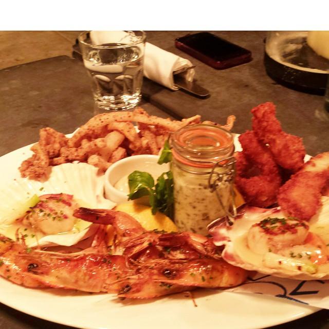 Seafood platter nom nom nom #foodporn
