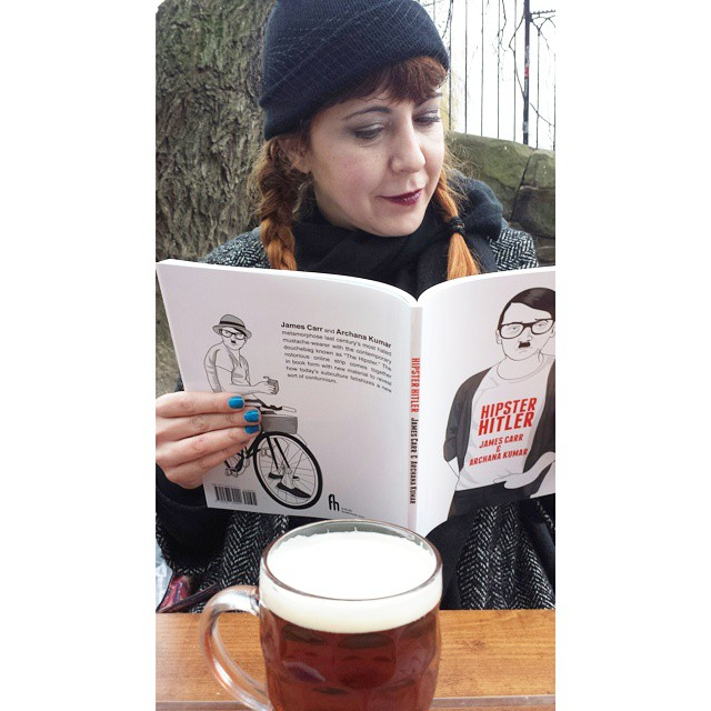 Perfect Saturday afternoon: #ale and Hipster Hitler #comics